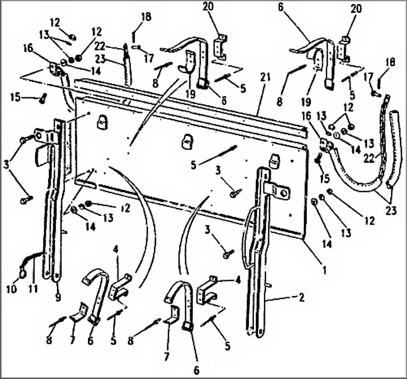 You Can Easily Make A Tailgate Cotter Pin From Standard Fastener: Land Rover Series 2a Lightweight Wiring Diagram At Downselot.com