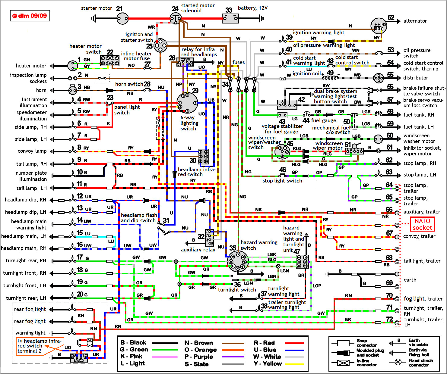 Wiring Diagram, Headlamp Wiring ...